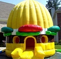 Inflatable dome bounce house/bouncy castles inflatables china