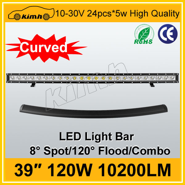 "High power 10200LM 39"" 120W off road 4x4 led light bar"