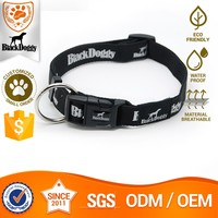 Eco-Friendly Nylon Personalized Nylon Webbing Rope Collar For Dog Wholesale Fujian Supplier