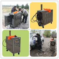 Trade Assurance CE No boiler LPG mobile 20bar auto vapor steam cleaner, car wash pictures