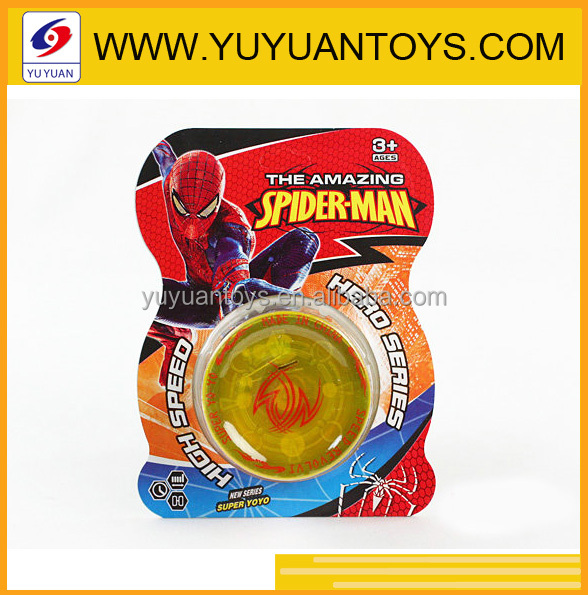 2015 plastic cheap yoyo ball toy promotional toy for kids yoyo wholesale