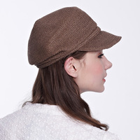 100% eco-friendly material summer unique design straw casquette hat