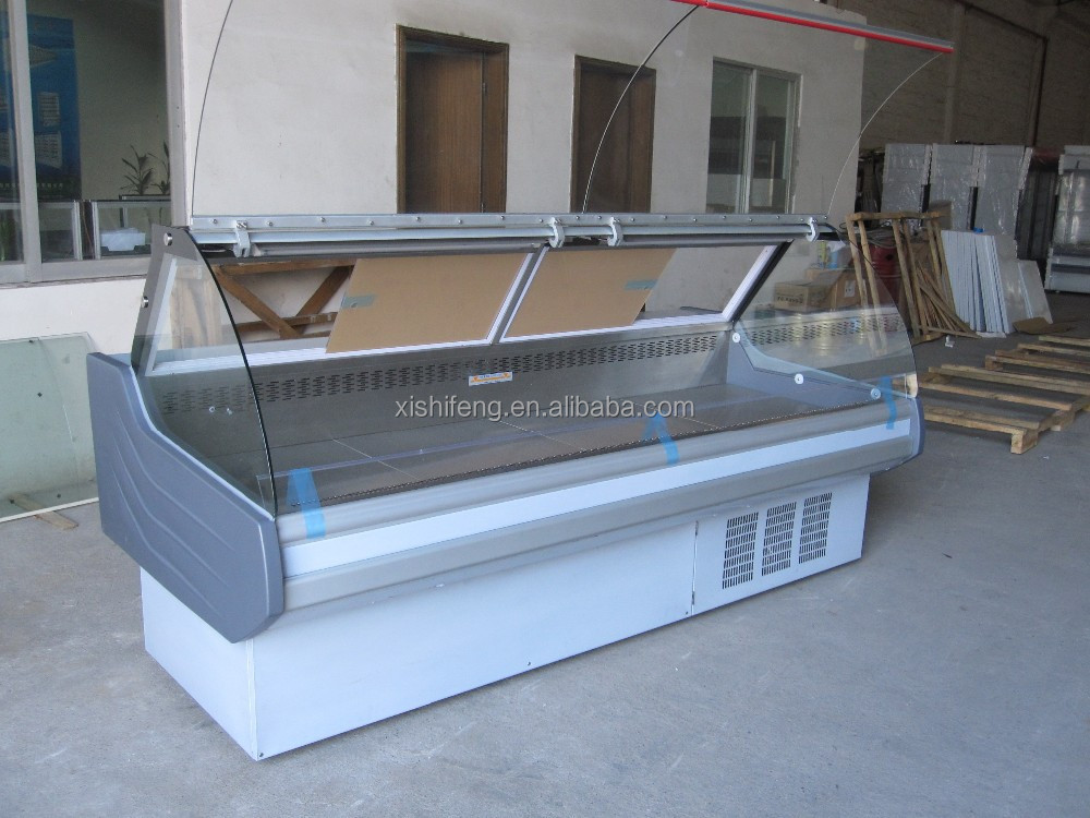 Supermarket refrigerator/seafood used display case(CE)