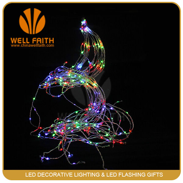 RGB waterproof festoon lighting string for wedding background