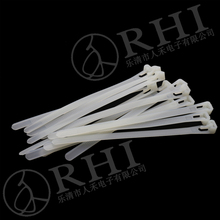 RHI high temperature plastic reusable numbered cable ties