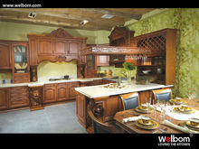 Custom European Style Kitchen Cabinet in Aristoclectic