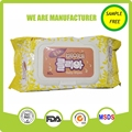 China manufacture custom baby wet wipes/tender baby wipes/alcohol free wet wipes