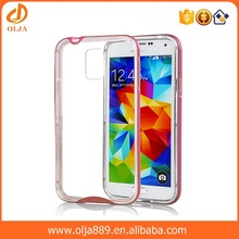 Crystal Phone Case for samsung galaxy s5 Clear Hard Case