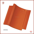 China Manufacturer Coloured Glaze Japanese Ceramic Flat Roof Tile