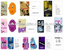 Customized Cotton Paper Header Card