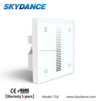 0 / 1 - 10V Innovation Attactive 220v wall mounted touch switch led driver dimmer for LED lighting