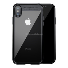 2017 original Baseus New for iPhoneX TPU+PC double Protective Case for iPhone X anti scratch Clear case Cover