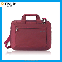 YINUO Multi-function Waterproof 420D Nylon Laptop Shoulder Bags for Macbook Pro for business trip