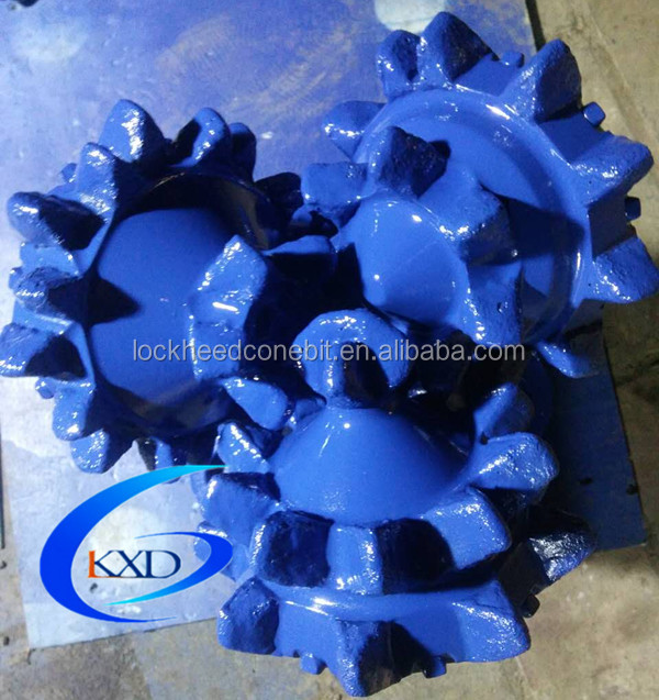 IADC211Bit Milled/Steel Tooth Bit Tri-Cone Bit rock roller bit sealed bearing API thread soft formation
