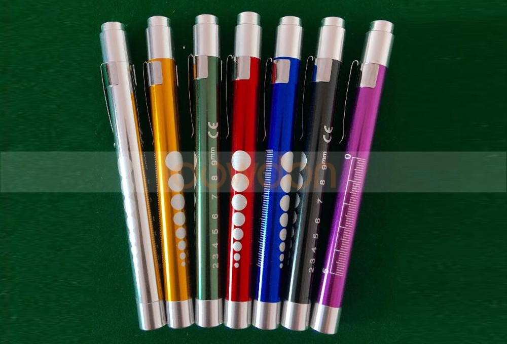 Alloy Shell Doctor Nurse Diagnostic Check Medical First Aid Pen Light Toch