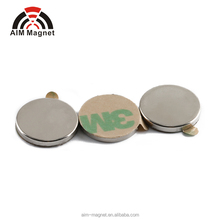 china ndfeb magnet manufacturer disc ultra thin Adhesive magnet 12.7x3.175mm