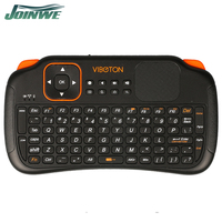 2016 New Arrival S1 Mini Wireless Keyboard S1 Air Mouse S1 Air Fly Mouse 2.4g With Touchpad For Pc Android Tv Black