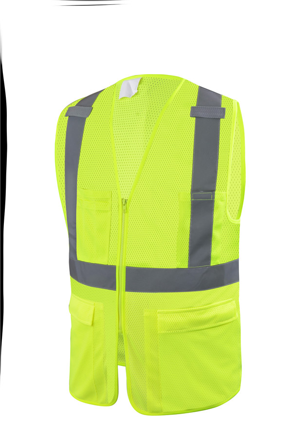 120GSM High visibility reflective <strong>security</strong> class 2 safety vest