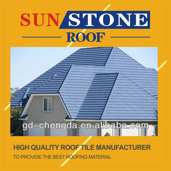 Colorful Stone Coated Metal Roof Tiles 1335mm*420mm