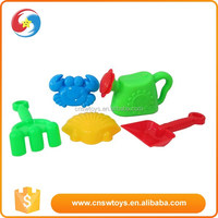 Green kettle and mini shovel Beach child toy set sport outdoor toy