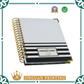 Custom high quality 2017 day weekly planner organizer notebook
