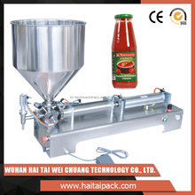 Most wanted products cola liquid filling machine with semi-automatic screw cap system