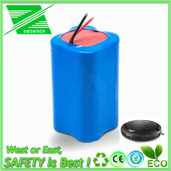 Li-ion 18650 Battery Pack 14.8V 2200mAh Robot Vacuum Cleaner Battery