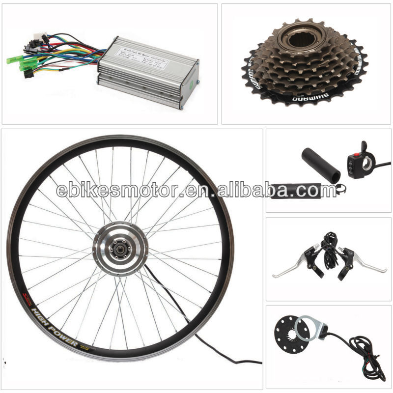 36V180-350W electric bicycle kit comes with LED display & small brushless electric bicycle motor