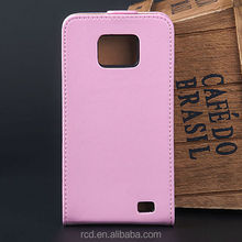 Hot Belt Clip Cover For Samsung Galaxy S2 II i9100 Cow Leather Case For Samsung i9100 Cell Phone Cover For Galaxy S II RCD03007