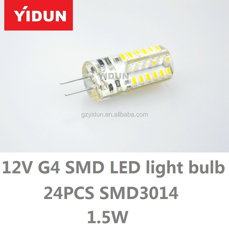 24V G4 LED Crystal Light bulb, G4 LED Lamps Marine Crystal light Bulb , DC12V Car Chandelier Led Lighting Crystal