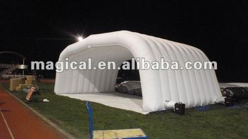 Advertising White Inflatable Roof Tent with Cheap Price