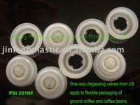 U.S. One-way Degassing Valves for Coffee Packages