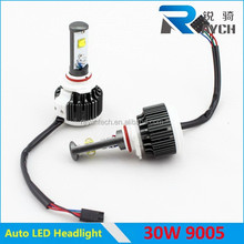 2015 hot sale turbo v16 auto led 9005, LED Headlight lamps for racing car