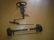 6000w electric vehicle front axle steering system
