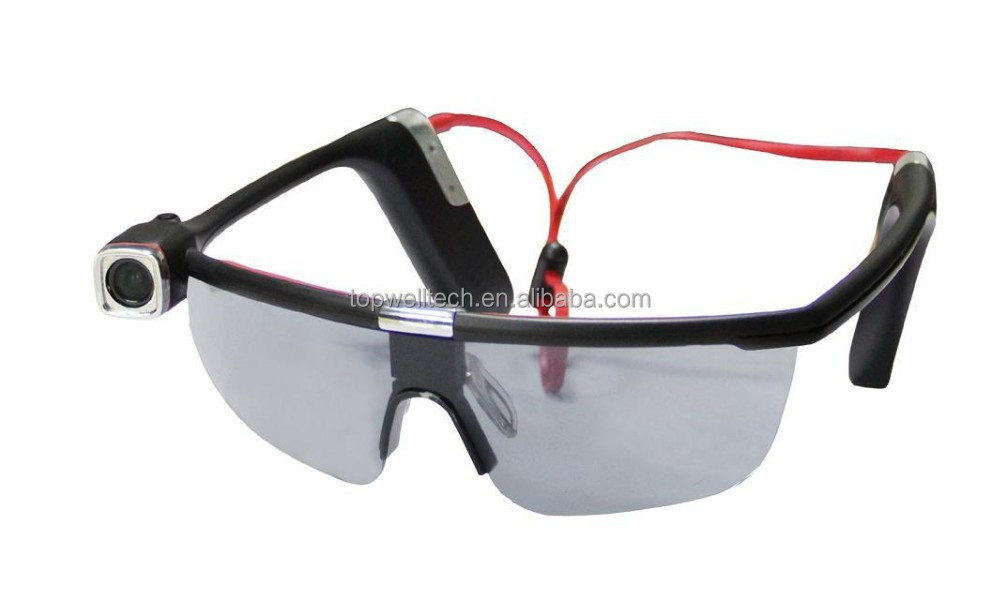 1080p Hd Wearable Sports Action Camera Sunglasses Camera With Wifi ...