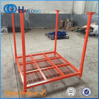 Industrial steel semi trailer spare tire rack
