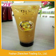 Hot Selling Korean Anti wrinkle Moisturizing Peel Off 24k Pure Gold Collagen Mask Cream