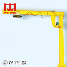 Construction Machinery 500Kg Electric Marine Swing Jib Crane Suppliersw For Export Quality Standard