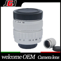 Popular Silver 35mm f1.7 C mount CCTV Movie Lens for Olympus Panasonic M4/3 E-P2 E-PL2 G2 GF2 GH2 for NEX-3 NEX-5 NEX-7