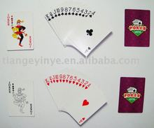Advertising Glass Playing Card