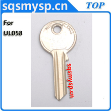 F417 steel Iron Universal UL058 U-3D UNL5P house key blanks suppliers