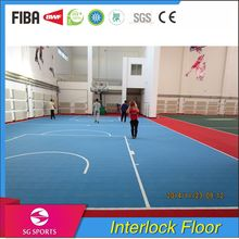 100% PP Outdoor Easy and Quickly Installation Anti-slip interlocking Floor Tile