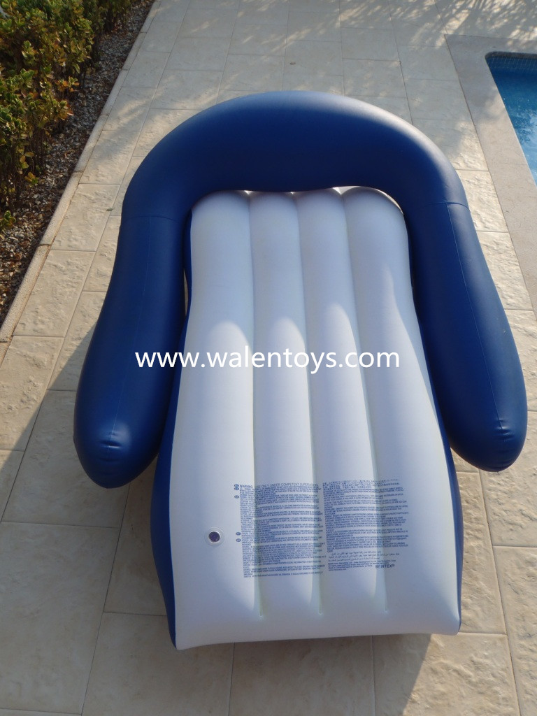Floating Pool Lounger Inflatable Beach Chair Water Raft Tube Swim Toy Outdoor