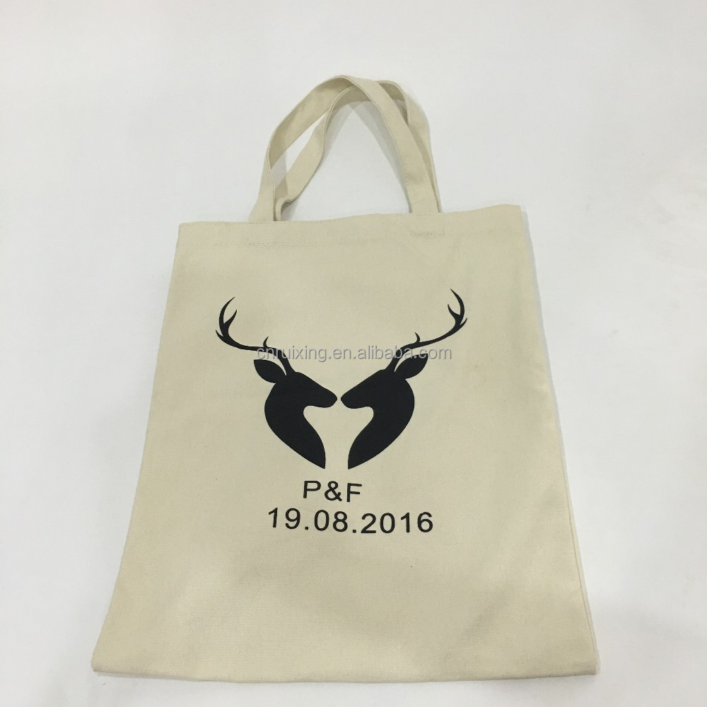 tote cotton canvas bag with custom printing