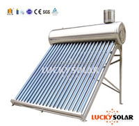 All Stainless Steel solar water heater,Non Pressure Bearing Type With Water Tank And Solar Collector,Stainless Steel Feeder Tank