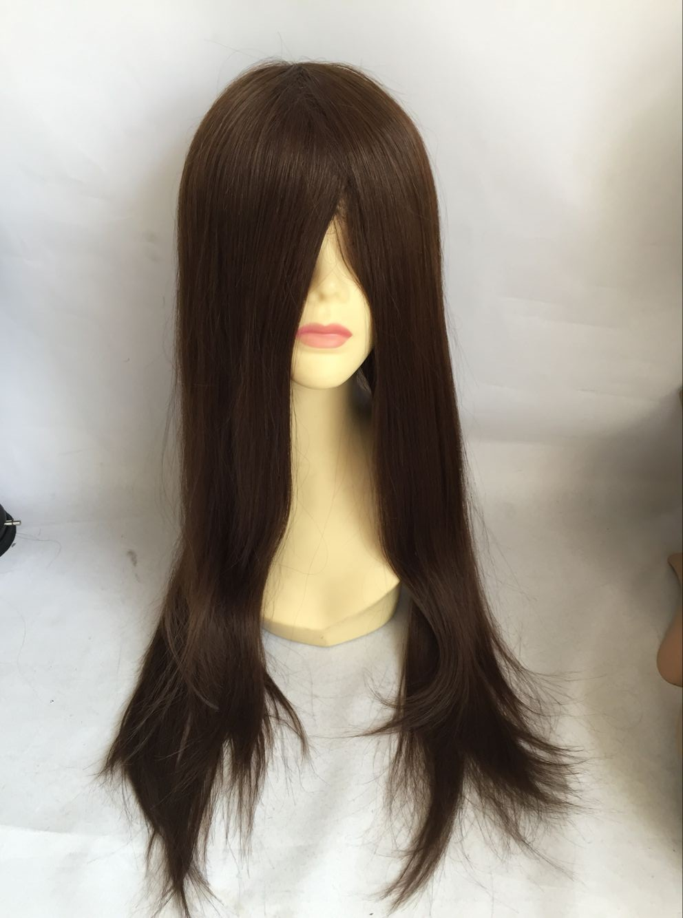 quick delivery human virgin hair full swiss lace wig