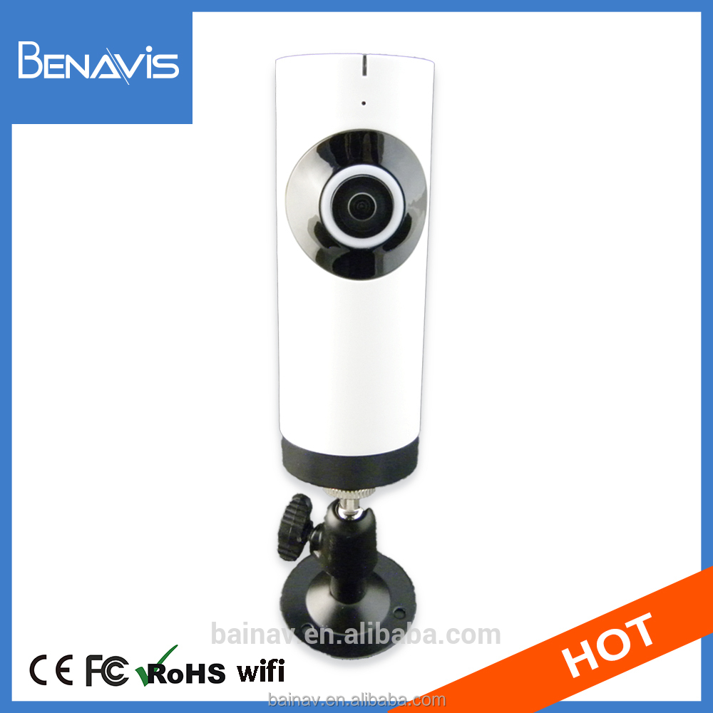 Hd 720P 25Fps 360 Degree Webcam Ntp Support Fisheye Lens Security Camera