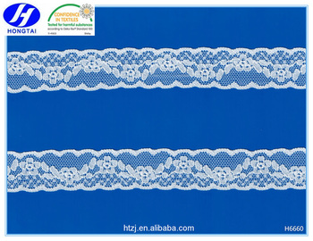 Eco-friendly Floral Lace Trim for Babydoll Decoration