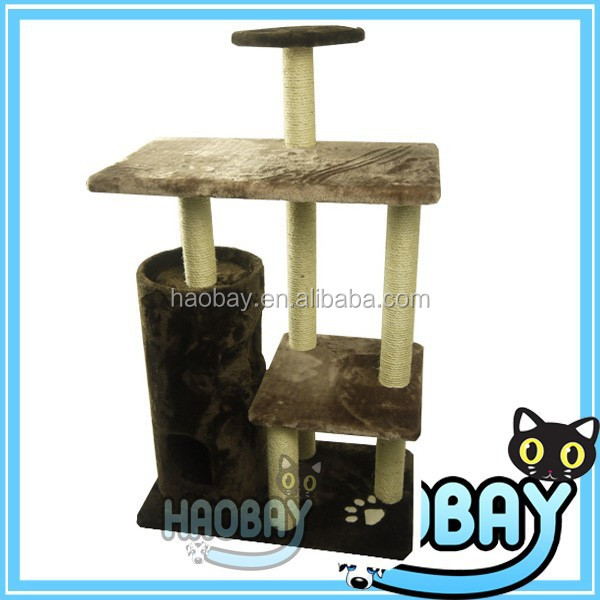 New Giant Kitty Suit Sisal Condo Scratcher With Cat Tower kitty scratcher