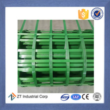 Warp knitted PET polyester welding geogrid